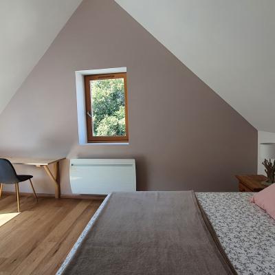 chambre 2ème étage lit 160