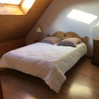 Chambre 2 lit 140 grand gite le chalet