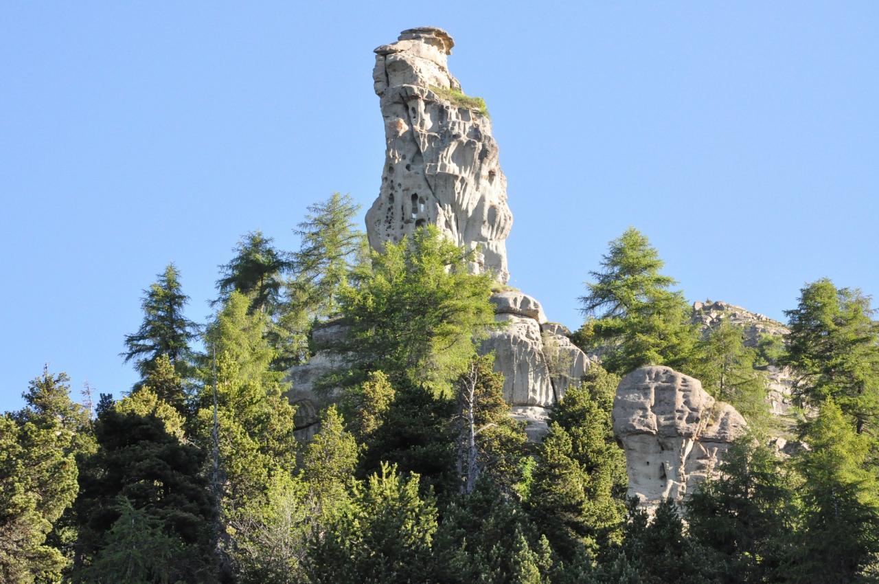Pinacle de grès du Champsaur