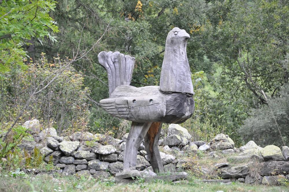 Sculpture en montagne