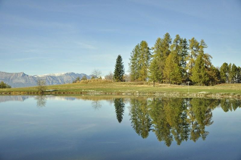 miroir du lac de Libouze