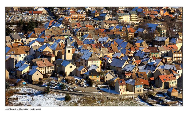 Village médiéval Saint Bonnet en Champsaur